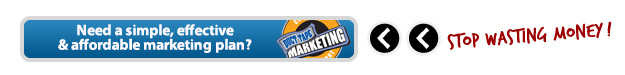 Stop wasting money!  Get an affordable marketing plan with Duct Tape Marketing!