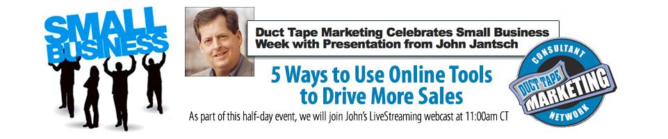 John Jantsch - Duct Tape Marketing