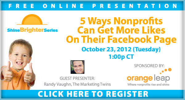 Nonprofts Webinar - Getting More Likes on Facebook