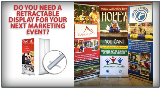 Does Your Business or Nonprofit Need a Customized Retractable Banner?