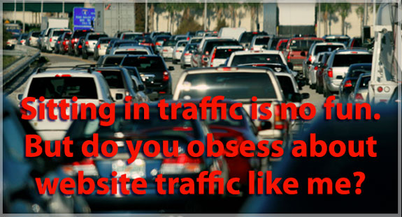 Website Traffic - How Obsessed Are You? @marketingtwins