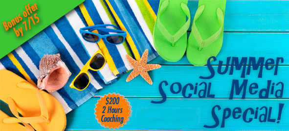 Summer Social Media Coaching with The Marketing Twins