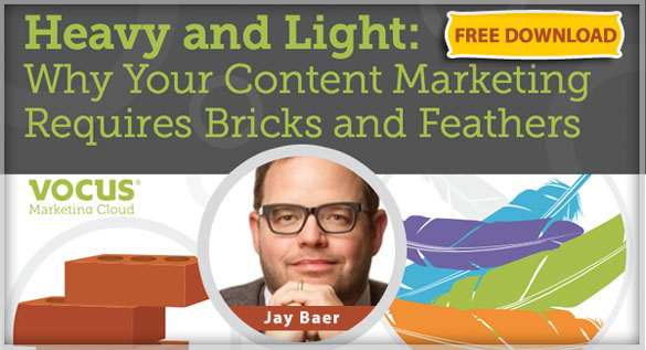 "Download Jay Baer's PDF ""Bricks and Feathers Content Marketing"""